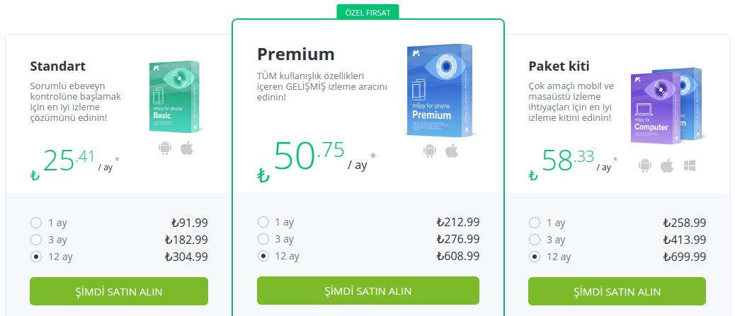 WhatsApp Takip fiyatlar